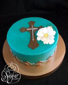 western cross cake