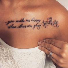 Idee Tatouage Citation Phrase Femme Bas Ventre Tatouage Tatouage