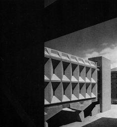 Technology Building II, New York University Uptown Campus (now Bronx Community College), 1964-69     (Marcel Breuer & Associates)