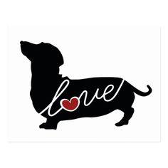 Piebald Dachshund, Dachshund Puppies, Dachshund Love, Dashund, Dog Coloring Page, Weenie Dogs, Cricut, Unisex, Postcard Size