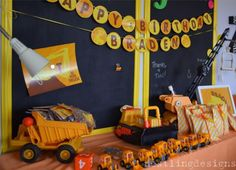Kid's construction party