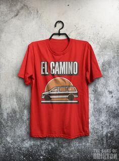 El Camino Inspired The Rock Band Shirt by TheGunsOfBrixton1979