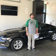 Check out JJ and his new Mustang!! Many thanks and congrats! #FordFamily #FordMustang #Coupe #YoureGonnaLoveIt #TeamKoons #KoonsFord #Annapolis #allsmiles #baltimoreorioles