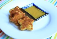 Crispy Tofu Stars for Kids and Toddlers - lifeismadeblog.com #toddler food #healthy food #tofu