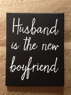 Husband is the new boyfriend on Etsy, $38.00