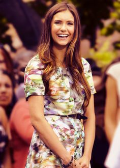 she's my main girl crush now...so i have to share her with you. Nina Dobrev :)