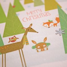 C7 - Woodland Christmas