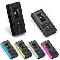 Geek | Mini USB MP3 Music Media Player LCD Screen Support 16GB Micro SD TF Card Trendy Gifts