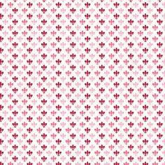 Tula Pink Plume  Fleur De Lis Light Pink
