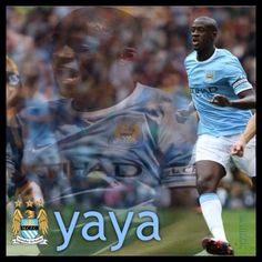 Yaya Toure wallpaper Manchester City