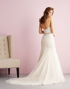 Allure Bridals : Romance Collection : Style 2703 : Available colours : White/Silver, Ivory/Silver, Gold/Ivory/Silver (back)