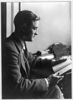 Francis Scott Fitzgerald!  The MOST inspirational artist in history.  Love, love, love him.