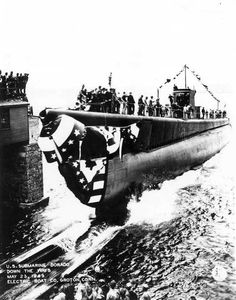 USS Dorado (SS-248) probably sunk in error by US aircraft in the Caribbean Sea,   12 October 1943.