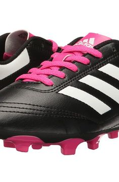 adidas Kids Goletto VI FG Soccer (Little Kid/Big Kid) (Core Black