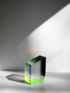 Philip LOw Sculpture - #green #transparency #reflection #art
