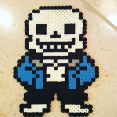 Sans Undertale perler beads by  deathdj57
