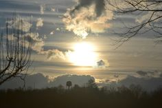 Storm clouds in Etowah, NC