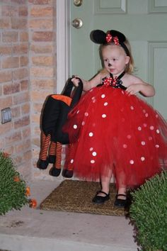 Minnie Mouse costume from Etsy.