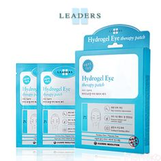 LEADERS INSOLUTION Hydrogel Eye Therapy Patch - MASKS - SKINCARE