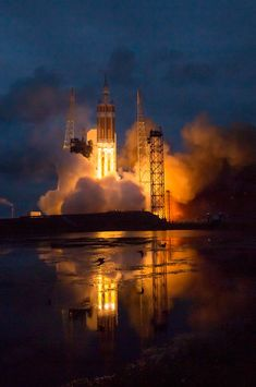 NASA's Astronomy Picture Of The Day: Orion Launch