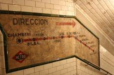 Antigua estación de metro de Chamberí.