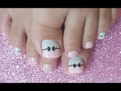 UNHAS DECORADAS EM ROSA PARA OS PÉS - YouTube Pedicure Nail Art, Manicure And Pedicure, Nyc, Toe Nail Designs, Toe Nails, Beauty, Youtube, Eyeliner, Videos