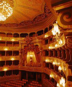 Teatro Nacional de São Carlos - Opera house in Lisbon, Portugal