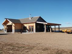 The Breitenbach family achieved their dream of self-sufficiency by converting a machine shed into a mortgage-free dwelling.
