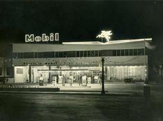 Fotos de 1962 de la Estación Mobil de Manuel Becerra...