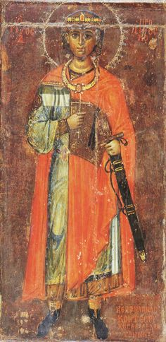 St. Prokopios the Great Martyr (13th Century, St. Catherine's Monastery, Mount Sinai