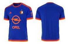 Camisa do Feyenoord 2015-2016 Adidas