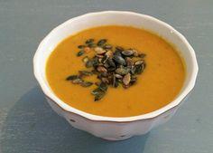 Möhren-Süsskartoffel-Suppe