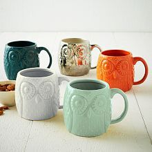 Owl Mugs - love these & I waited too late to buy them.