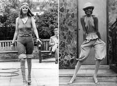The 1960s was the era of rising hemlines and the mini skirts. Up until the 1960s hemlines were at an acceptable knee height with the introdu...