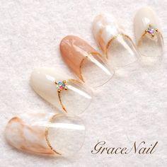 #nail #nailart #naildesign #nailinstagram #ネイル #ネイルデザイン #ネイルアート #タイダイ #ベージュ #オフィスネイル #gracenailタイダイ #gracenailベージュ #gracenailオータム Easy Nail Art, Cool Nail Art, Spring Nails, Summer Nails, Korean Nails, Nails Today, Japanese Nail Art, Gel Nail Designs, Creative Nails