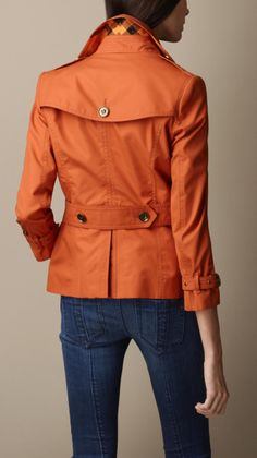 Cotton Rainwear Trench Jacket | Burberry