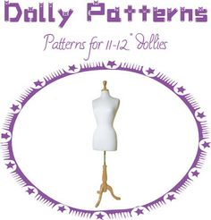 Free Printable Doll Clothes Patterns | DOLLYDOKIDOKI: Patterns fit for Pullip, Momoko, Jenny, Barbie more!