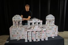 crazy card stacking - Google Search