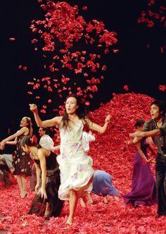 """Nelken, Pina Bausch, 1982 """"Nelken"""" are carnations, and in Pina Bausch's…"""