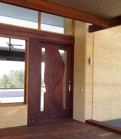 Samford Valley Residence, Queensland Rammed Earth Homes, Australian Homes, Entry Doors, Construction, Liberia, House Design, Contemporary, Architecture, Building