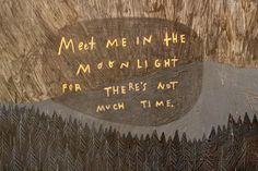 Detail of 'Meet Me in the Moonlight'.  Literally everything by Rebecca Green is my favorite thing ever.
