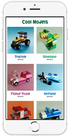 Get an iOS or Android app and build great Lego models with detailed photo step-by-step instructions.  Get app here: http://coolinstructionsforlego.com/