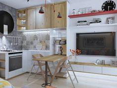 Дизайн кухни-гостиной 12 кв м - 40 фото идей обустройства