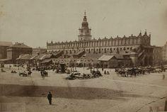 nostalgia dawnych ulic, dawne ulice XIX wiek, blog historia, blog historyczny Agnieszki Lisak.Rynek w dzień targowy,
