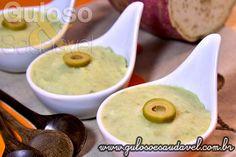 Este Puré de Batata Doce é divino, é um dos meus preferidos, é delicioso, saudável e auxilia a emagrecer.  #Receita aqui: http://www.gulosoesaudavel.com.br/2013/05/22/pure-de-batata-doce/