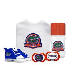Baby Fanatic Florida Gators Five-Piece Baby Gift Set   zulily