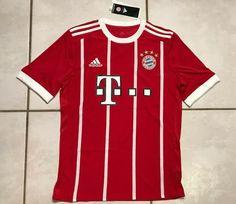 NWT ADIDAS Bayern Munich 2017 Jersey Youth XL AZ7954  | eBay Soccer Shirts, Adidas, Munich, Youth, Mens Tops, Ebay, Bavaria, Young Man, Young Adults