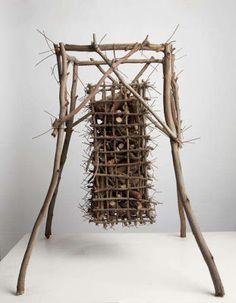 eucalyptus branch sculpture | Ken Unsworth
