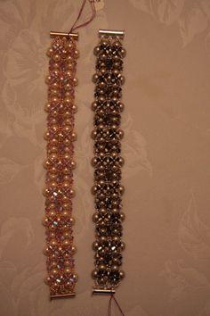 Bracelet Making, Beadwork, Beaded Bracelets, Jewelry, Fashion, Jewellery Making, Moda, Pearl Embroidery, Pearl Bracelets