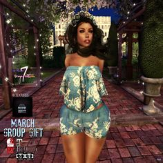 Leah Outfit March 2017 Group Gift by Sevyn East
